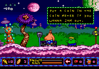 ToeJam & Earl in Panic on Funkotron 11