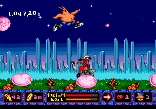 ToeJam & Earl in Panic on Funkotron 2