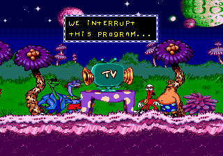 ToeJam & Earl in Panic on Funkotron 4