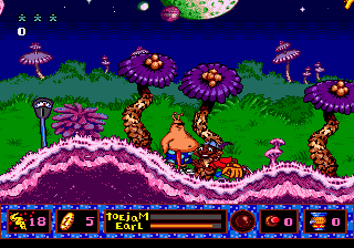 ToeJam & Earl in Panic on Funkotron 8