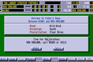 Tom Landry Strategy Football abandonware
