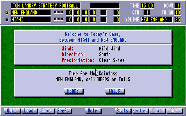 Tom Landry Strategy Football 3