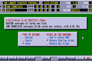 Tom Landry Strategy Football Deluxe Edition 17