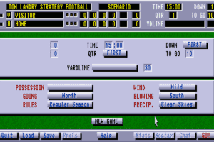 Tom Landry Strategy Football Deluxe Edition 4