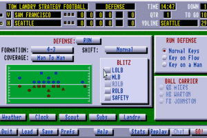 Tom Landry Strategy Football Deluxe Edition abandonware