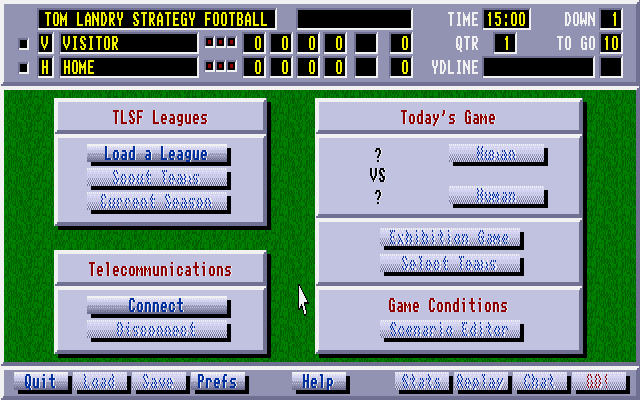 Tom Landry Strategy Football Deluxe Edition 2