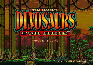 Tom Mason's Dinosaurs for Hire 0