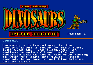 Tom Mason's Dinosaurs for Hire 11