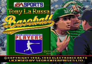 Tony La Russa Baseball 0