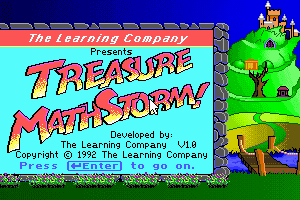 Treasure MathStorm! 0