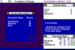 Tunnels & Trolls: Crusaders of Khazan abandonware