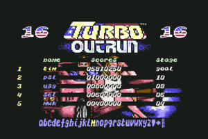 Turbo Out Run 8