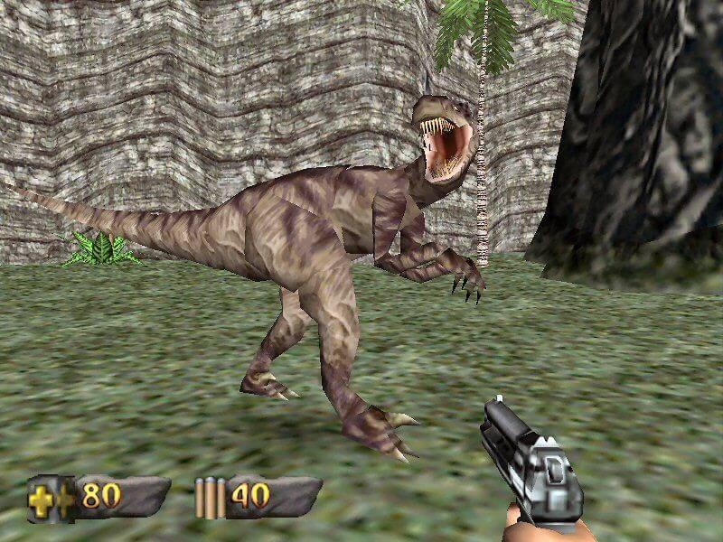 نتیجه تصویری برای Turok dinosaur hunter pc
