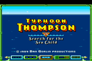 Typhoon Thompson in Search for the Sea Child 0