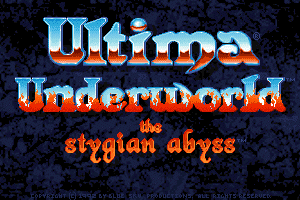 Ultima Underworld: The Stygian Abyss 0