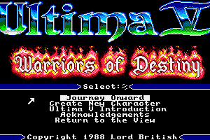 Ultima V: Warriors of Destiny 7