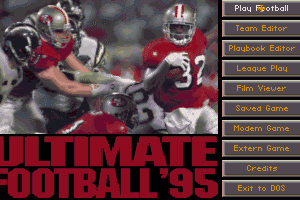 Ultimate Football '95 0
