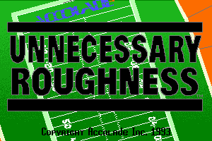 Unnecessary Roughness 2