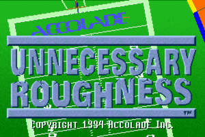 Unnecessary Roughness '95 1