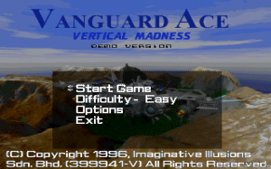 Vanguard Ace: Vertical Madness 1