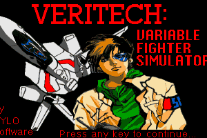 Veritech: Variable Fighter Simulator 1
