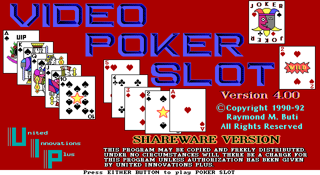 Video Poker Slot 1
