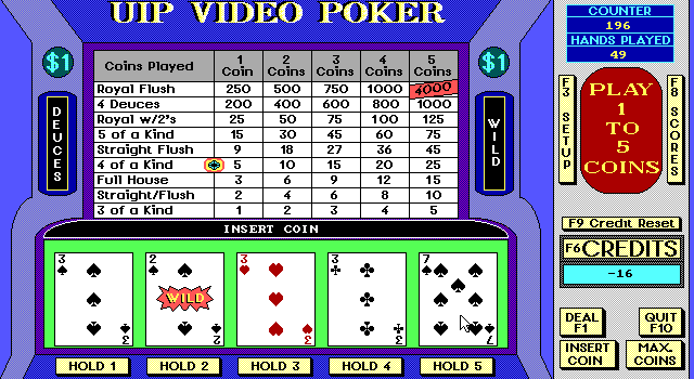 Video Poker Slot 4