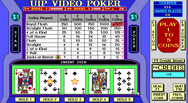 Video Poker Slot 5
