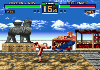 Virtua Fighter 2 3