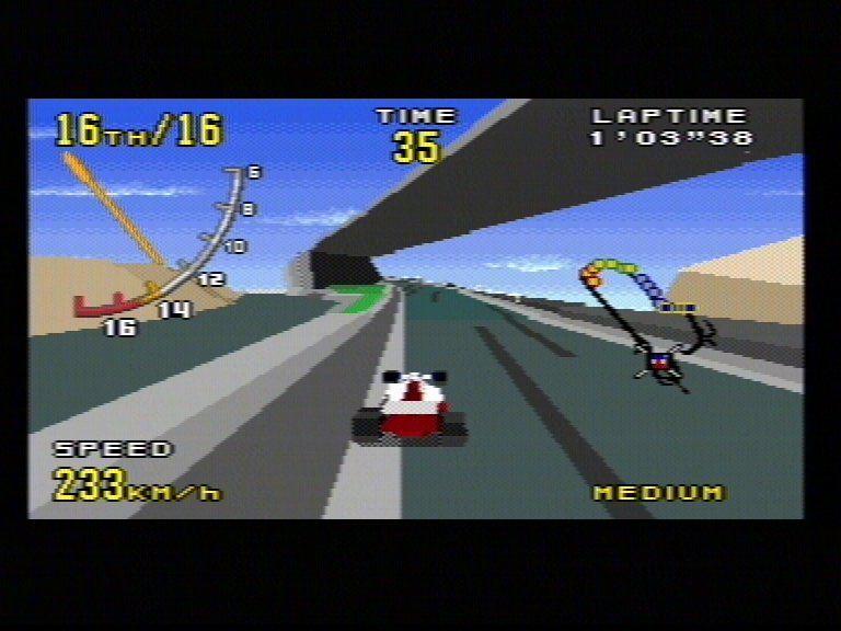 Virtua Racing Mega Drive/Review e ROM Download!