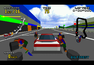Virtua Racing Deluxe 3