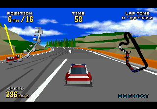 Virtua Racing Deluxe 4