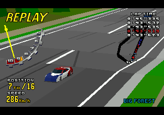 Virtua Racing Deluxe 6