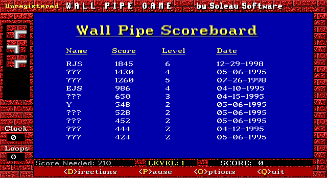 Wall Pipe 3