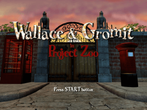 Wallace & Gromit in Project Zoo 0