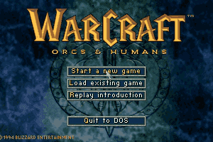 WarCraft: Orcs & Humans 0