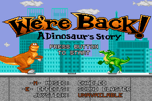 We're Back!: A Dinosaur's Story 0