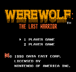 Werewolf: The Last Warrior 0