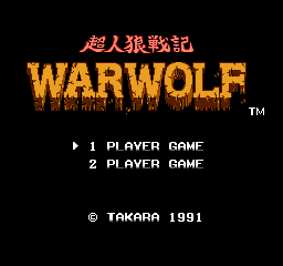 Werewolf: The Last Warrior 1