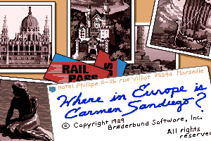 Where in Europe is Carmen Sandiego? 1