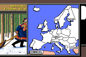 Where in Europe is Carmen Sandiego? 4