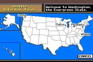 Where in the U.S.A. is Carmen Sandiego? 6