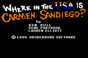 Where in the U.S.A. is Carmen Sandiego? 2