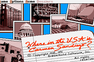 Where in the U.S.A. is Carmen Sandiego? (Enhanced) 2