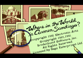 Where in the World is Carmen Sandiego? 1