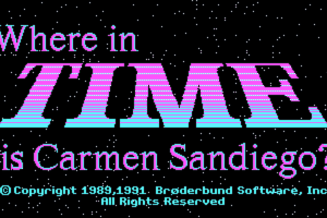 Where in Time is Carmen Sandiego? 10