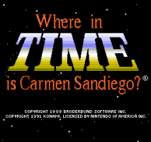 Where in Time is Carmen Sandiego? 0