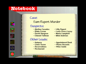 Who Killed Sam Rupert: Virtual Murder 1 abandonware