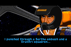 Wing Commander II: Vengeance of the Kilrathi 18