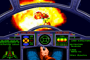 Wing Commander II: Vengeance of the Kilrathi - Special Operations 1 abandonware